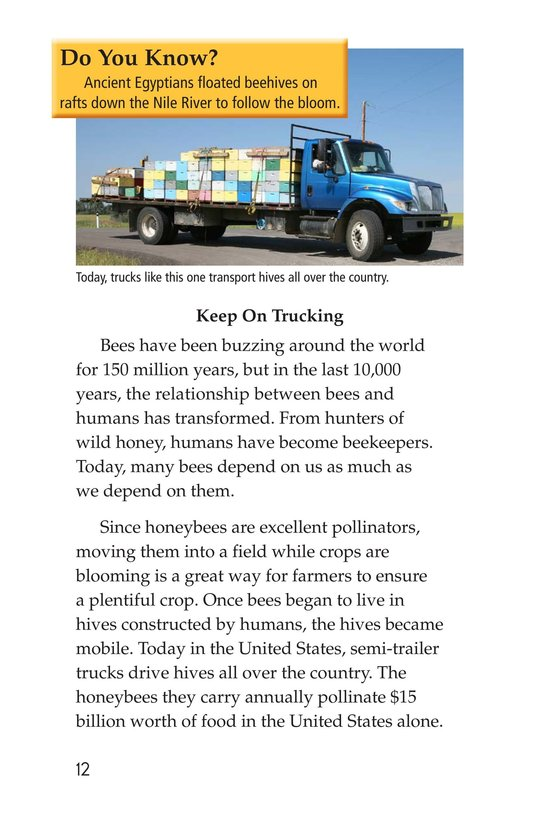 Book Preview For The Case of the Disappearing Honeybees Page 12