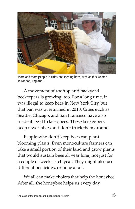 Book Preview For The Case of the Disappearing Honeybees Page 15