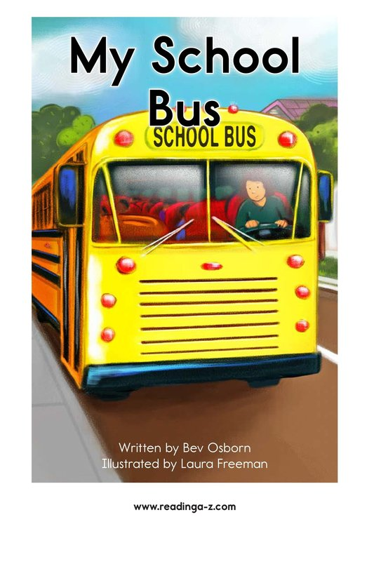 Book Preview For My School Bus Page 2