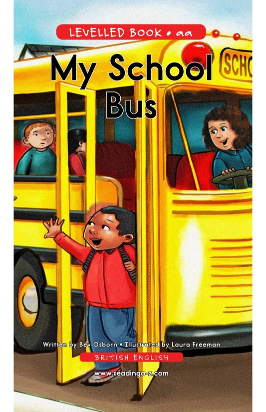Book Preview For My School Bus Page 1