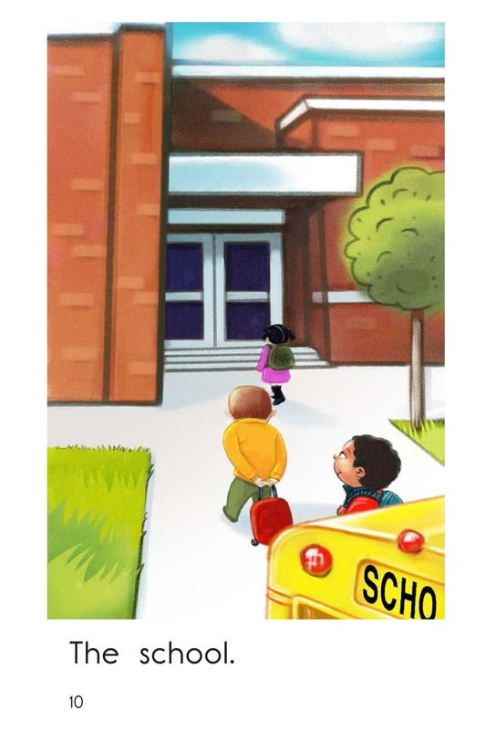 Book Preview For My School Bus Page 10