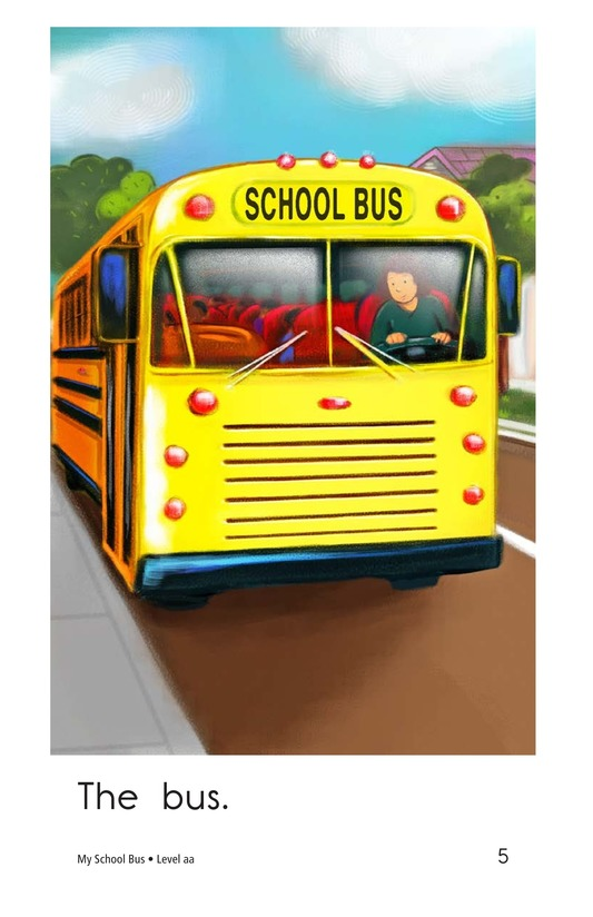 Book Preview For My School Bus Page 5