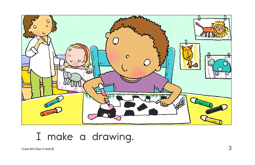 Book Preview For I Love Art Class Page 3