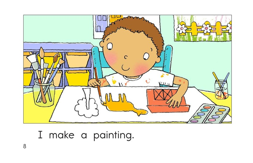 Book Preview For I Love Art Class Page 8