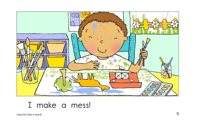 Book Preview For I Love Art Class Page 9
