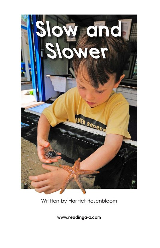 Book Preview For Slow and Slower Page 2
