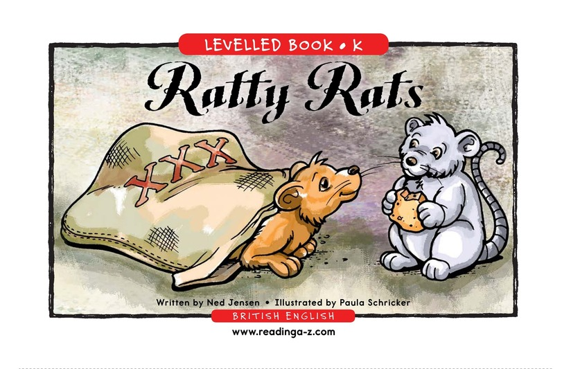 Book Preview For Ratty Rats Page 1