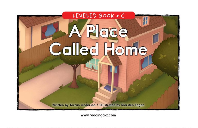 Book Preview For A Place Called Home Page 1
