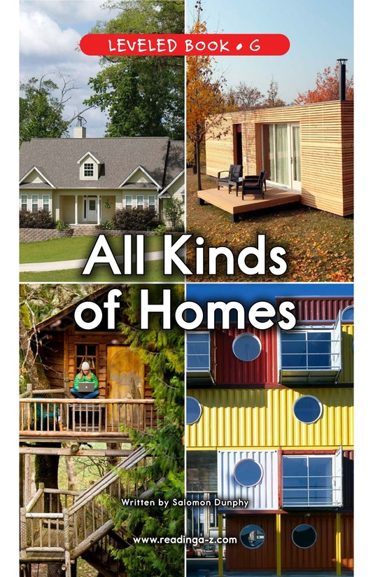 Book Preview For All Kinds of Homes Page 1