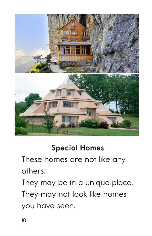 Book Preview For All Kinds of Homes Page 10