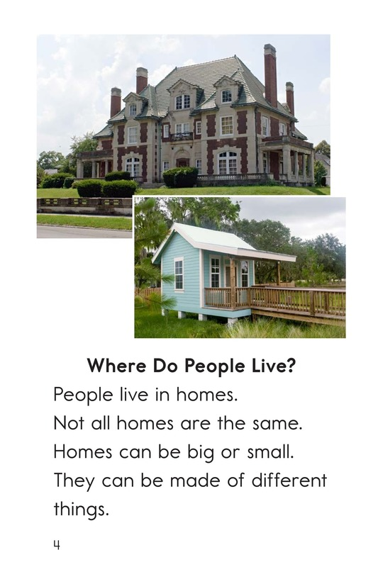 Book Preview For All Kinds of Homes Page 4