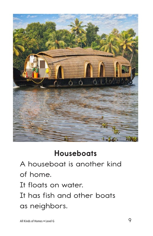Book Preview For All Kinds of Homes Page 9