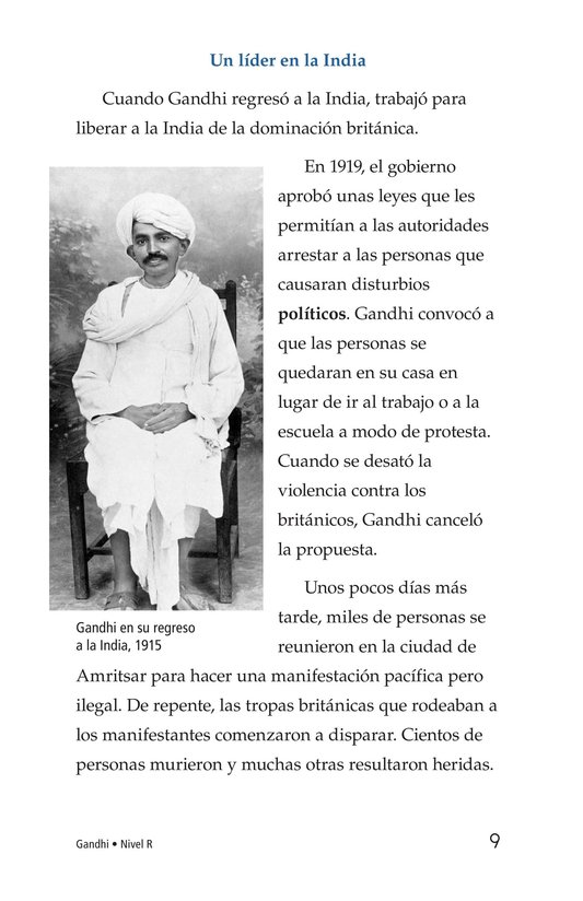Book Preview For Gandhi Page 9