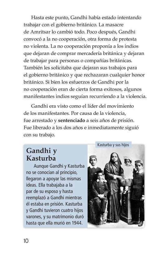 Book Preview For Gandhi Page 10