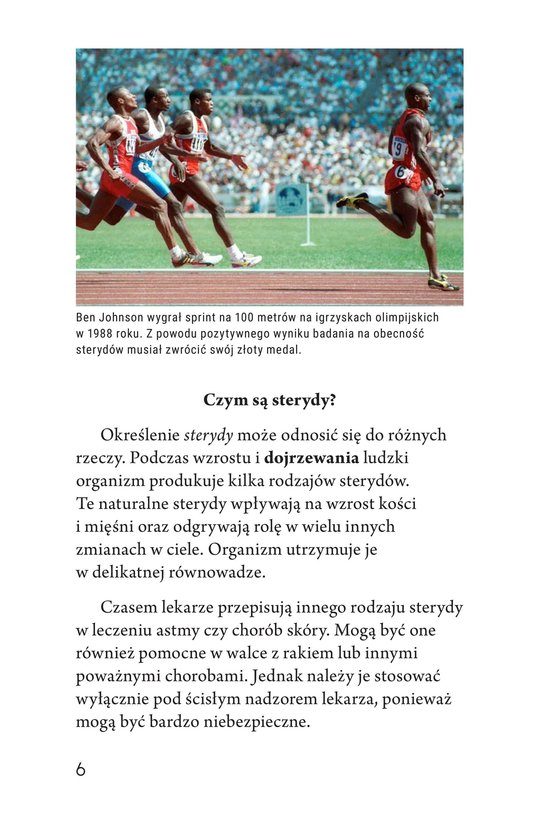 Book Preview For Spoiled Sports: The Dangers of Steroids Page 6