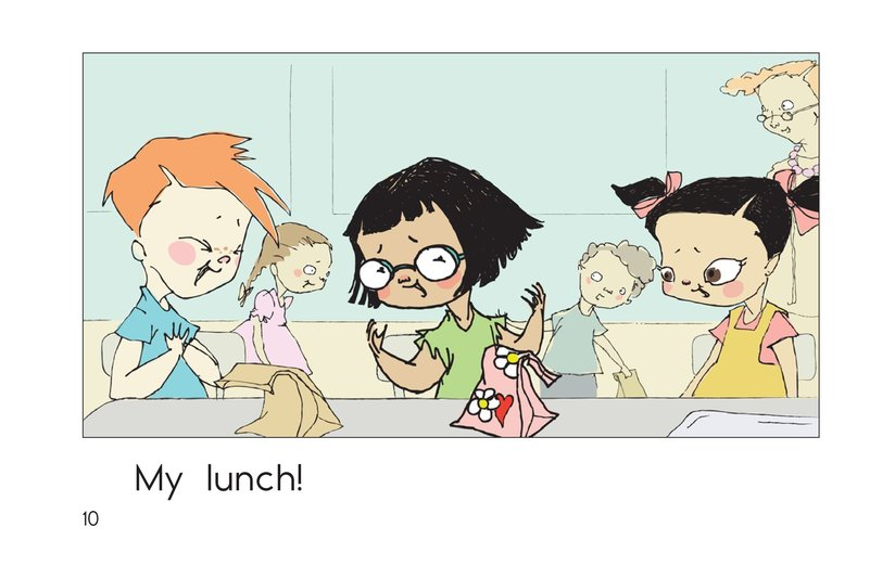 Book Preview For Lunch at School Page 10