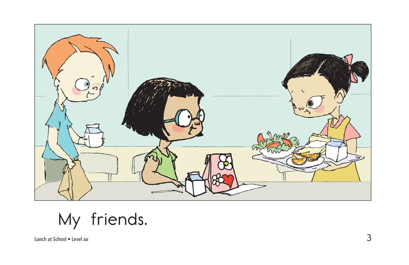 Book Preview For Lunch at School Page 3