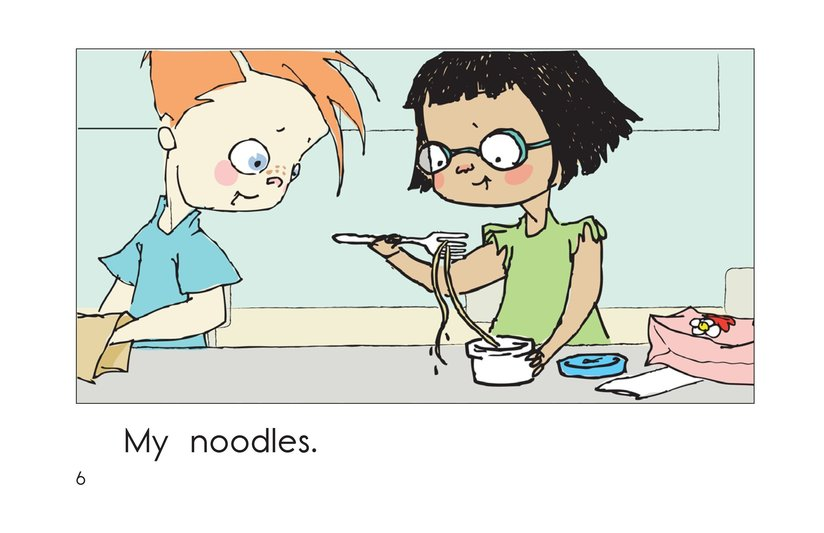 Book Preview For Lunch at School Page 6