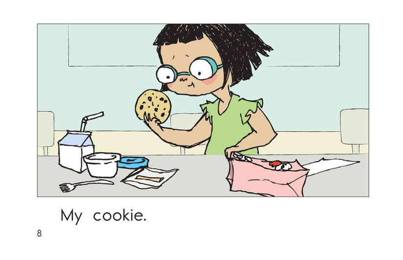 Book Preview For Lunch at School Page 8