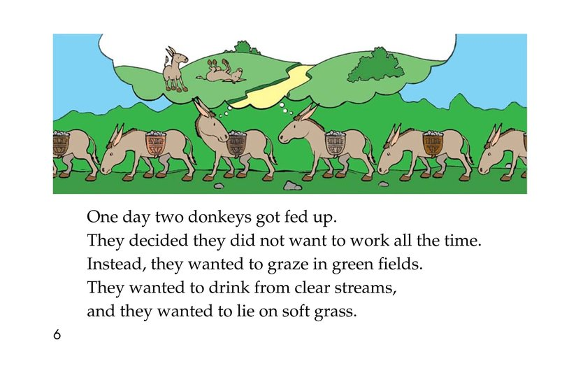 Book Preview For How Zebras Got Their Stripes Page 6