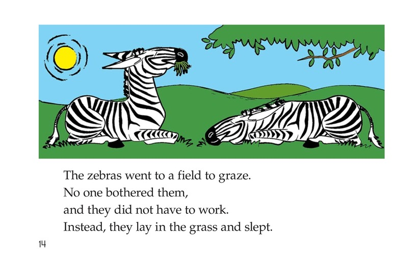 Book Preview For How Zebras Got Their Stripes Page 14