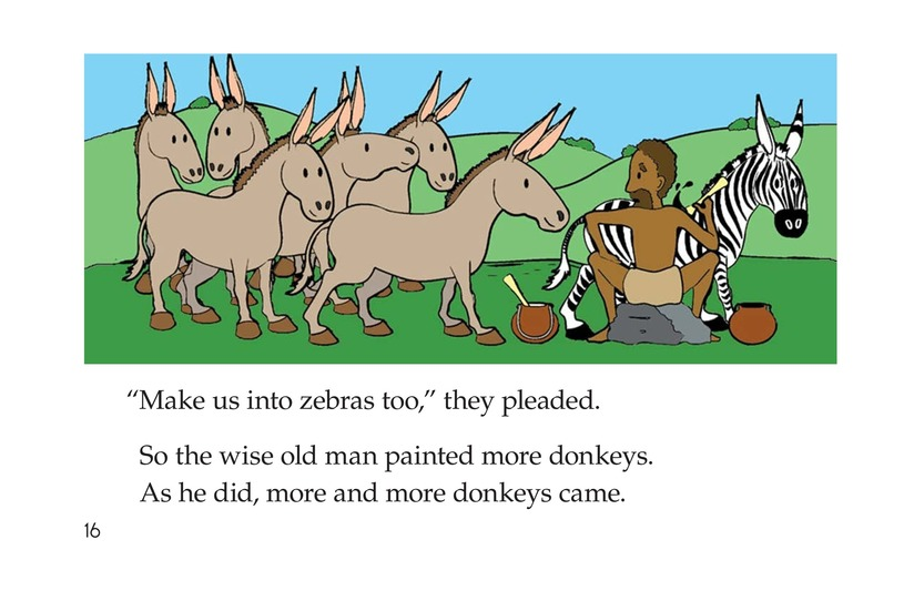 Book Preview For How Zebras Got Their Stripes Page 16