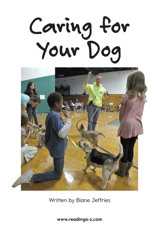 Book Preview For Caring for Your Dog Page 2
