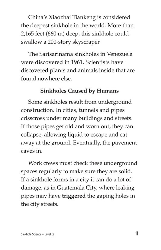 Book Preview For Sinkhole Science Page 11