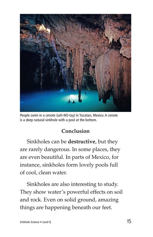 Book Preview For Sinkhole Science Page 15