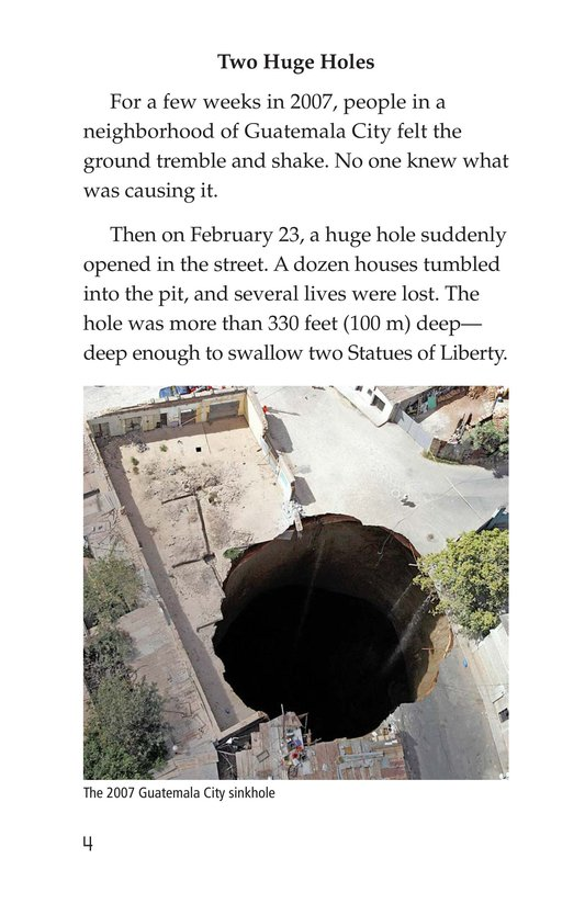 Book Preview For Sinkhole Science Page 4