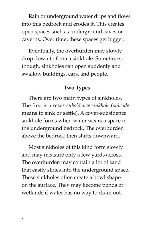 Book Preview For Sinkhole Science Page 6