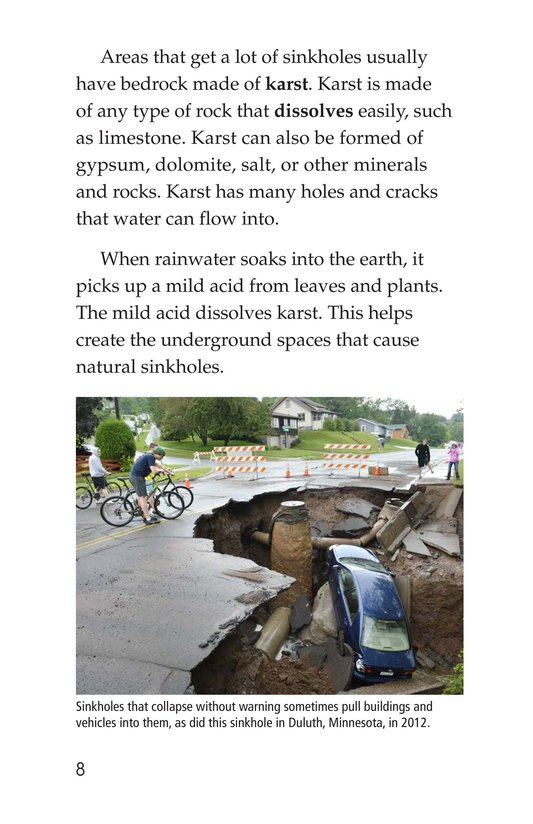 Book Preview For Sinkhole Science Page 8