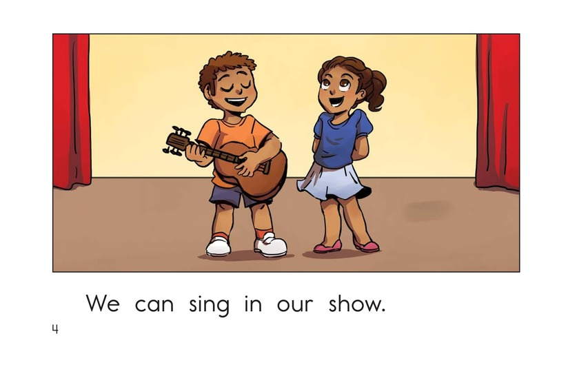 Book Preview For Our Show Page 4