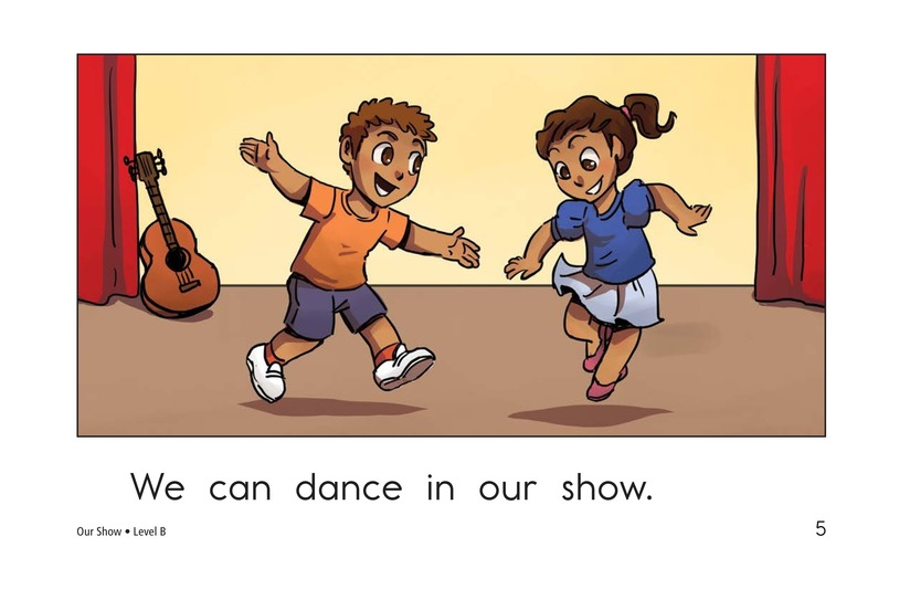 Book Preview For Our Show Page 5