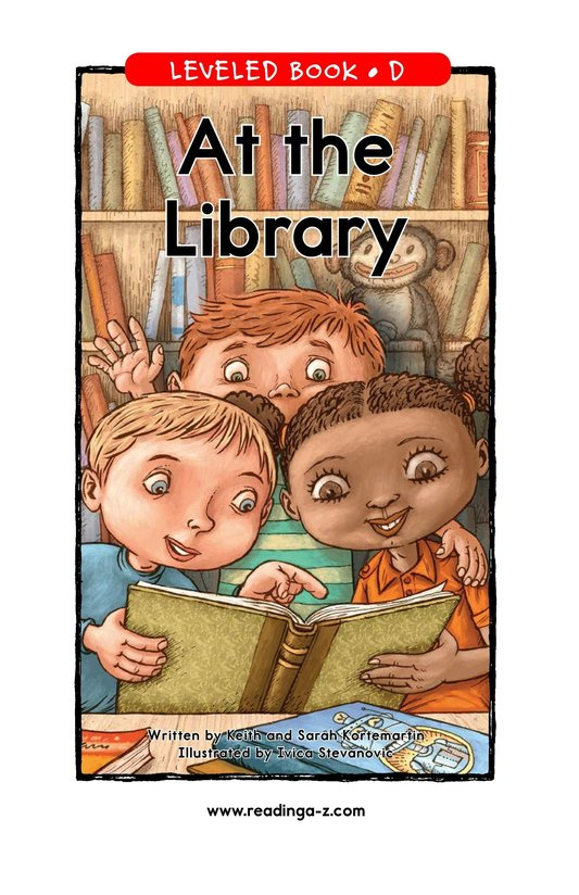 Book Preview For At the Library Page 1