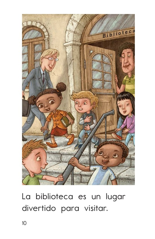Book Preview For At the Library Page 10