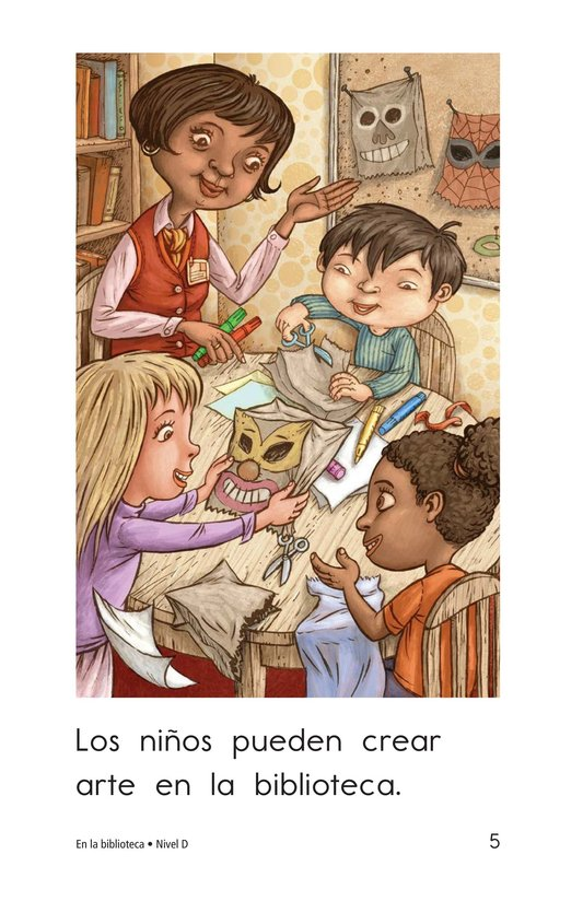 Book Preview For At the Library Page 5