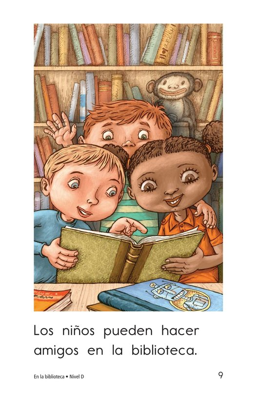 Book Preview For At the Library Page 9