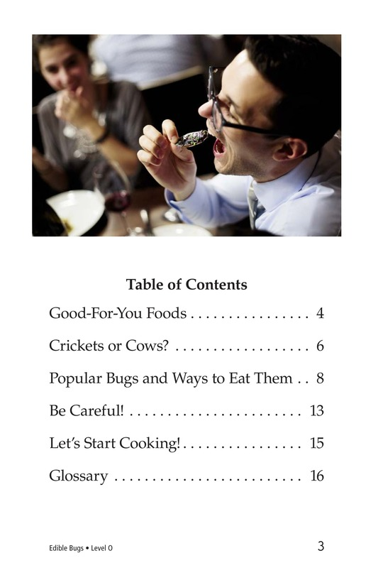 Book Preview For Edible Bugs Page 3