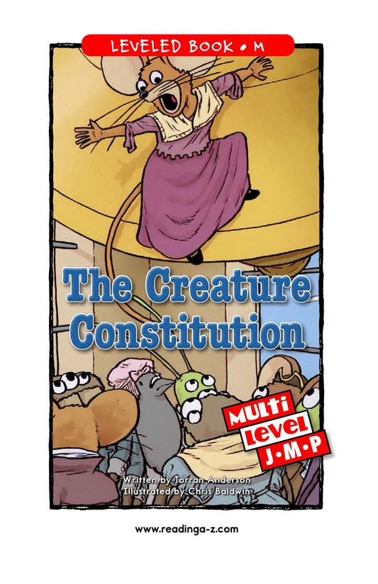 Book Preview For The Creature Constitution Page 1