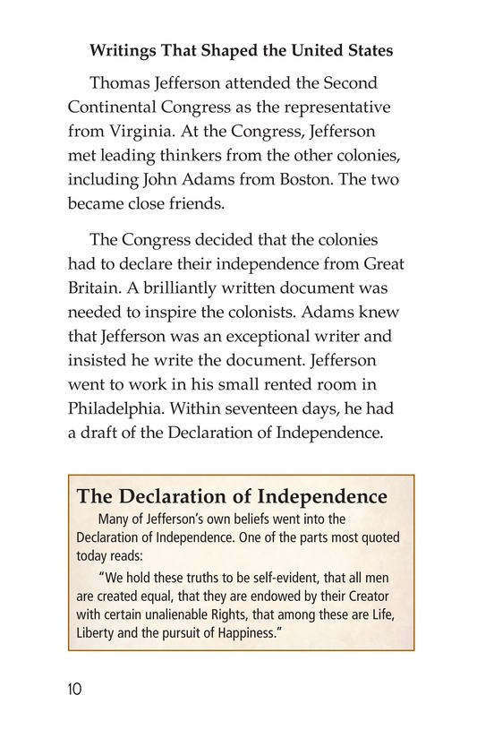 Book Preview For Thomas Jefferson Page 10