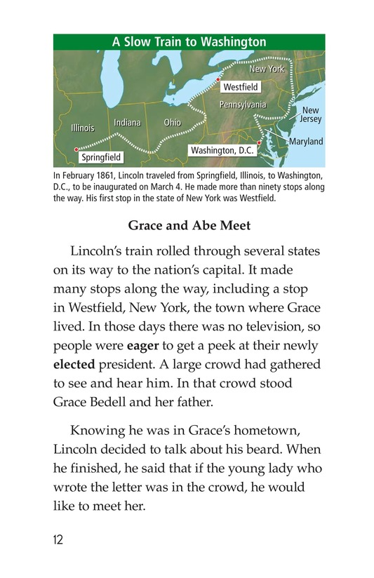 Book Preview For Why Abe Lincoln Grew a Beard Page 12