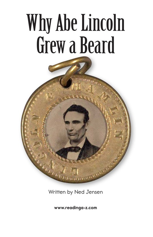 Book Preview For Why Abe Lincoln Grew a Beard Page 2
