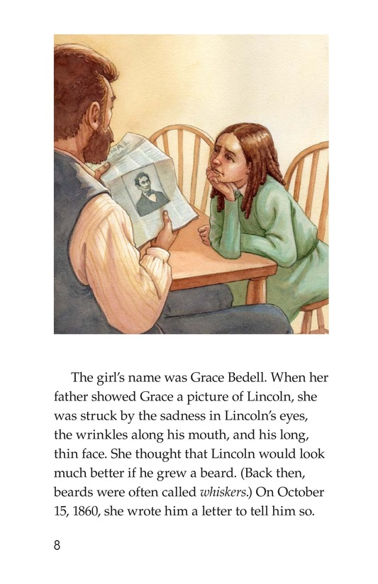 Book Preview For Why Abe Lincoln Grew a Beard Page 8