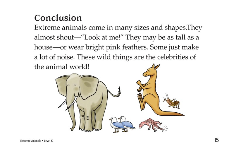 Book Preview For Extreme Animals Page 15