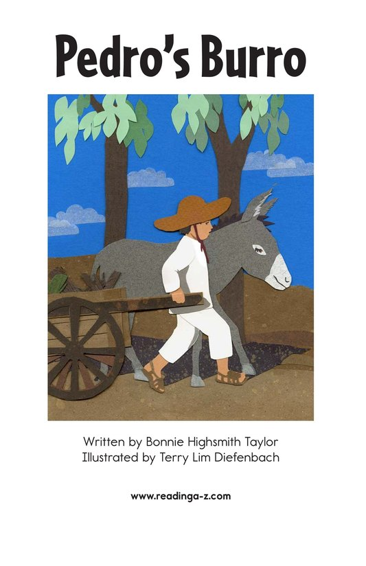 Book Preview For Pedro's Burro Page 2