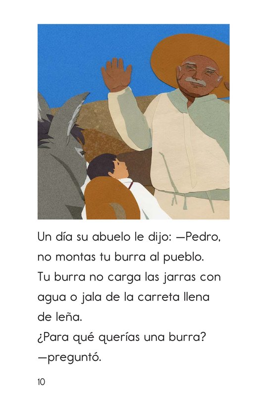 Book Preview For Pedro's Burro Page 10