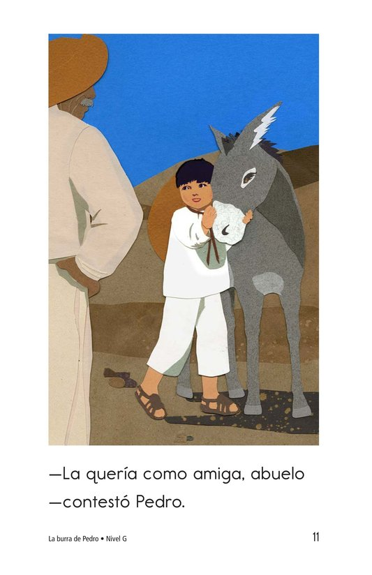 Book Preview For Pedro's Burro Page 11
