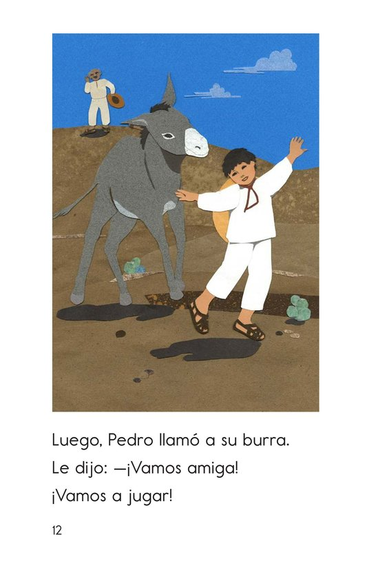 Book Preview For Pedro's Burro Page 12