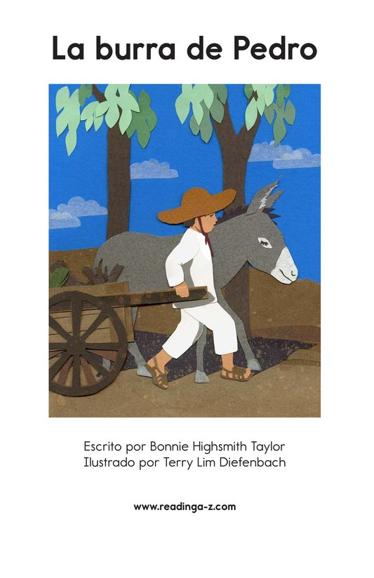 Book Preview For Pedro's Burro Page 2